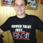 Enough Talk Black T-Shirt_image